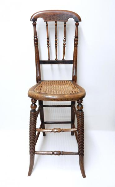 Antique Victorian Correction Chair photo 1