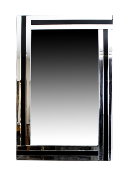 Absolutely Stunning Rectangular Art Deco Mirror photo 1