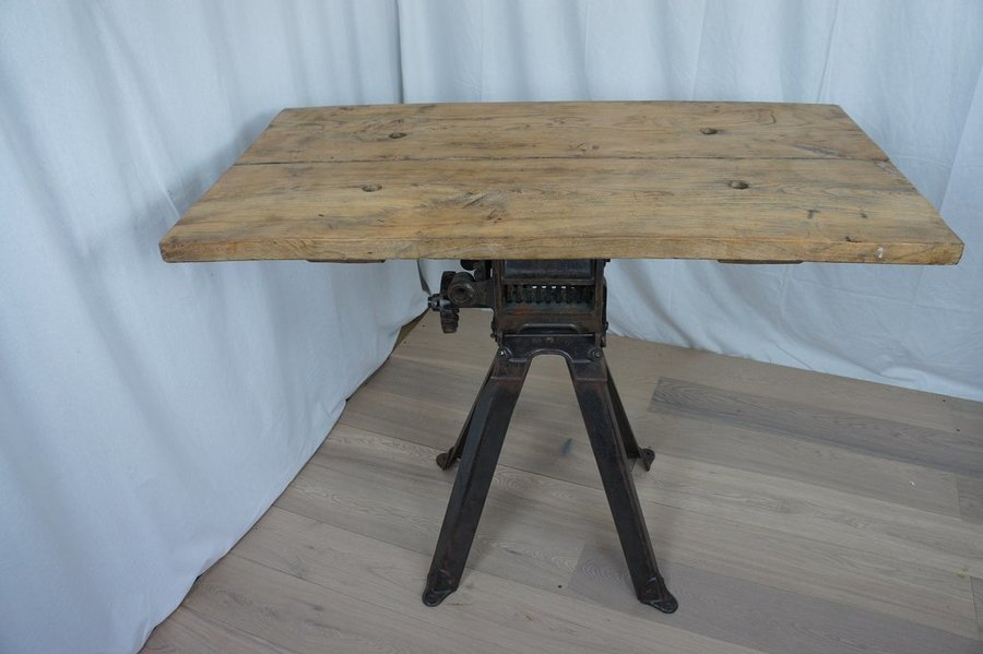 Vintage Industrial High Console Table Breakfast Bar