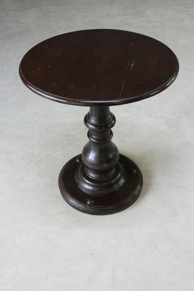 Mahogany Round Ships Table