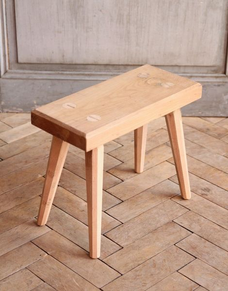 Miraculous Vintage Rustic Folky Wooden Milking Stool 1 Gamerscity Chair Design For Home Gamerscityorg