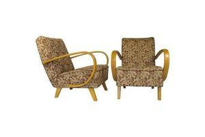 Thumb armchairs by jindrich halabala 1950s set of two 0