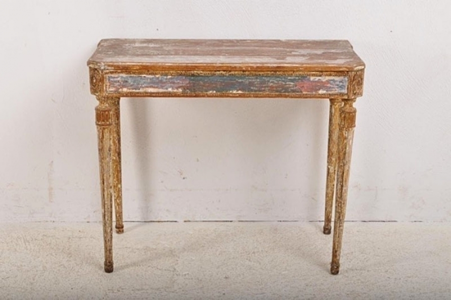 A Period Gustavian Console Table