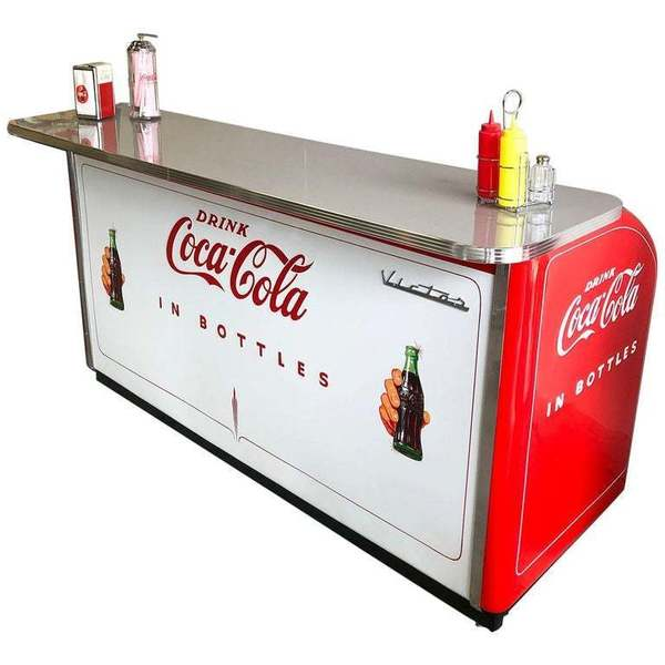 1950s Victor C 31 Coca Cola Bar