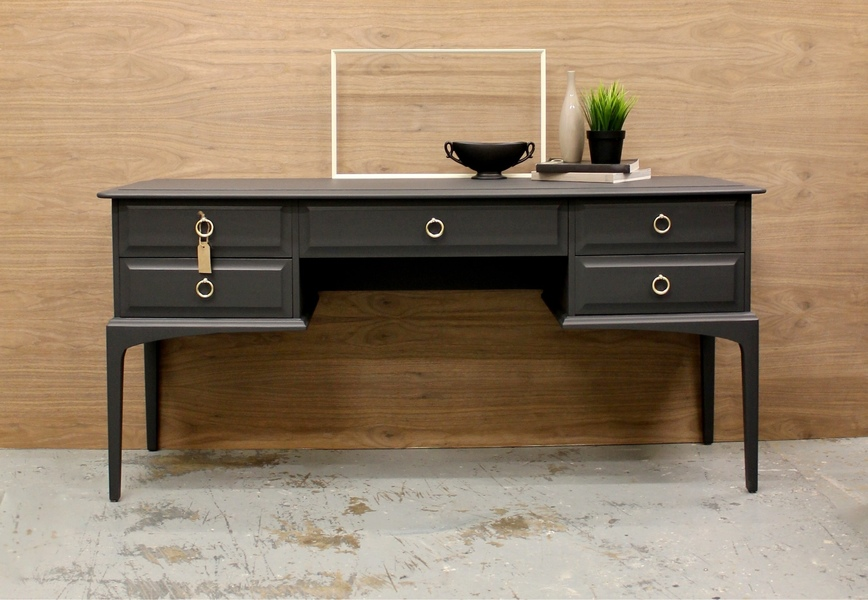 Mid Century Stag Minstrel Dressing Table Sideboard Desk