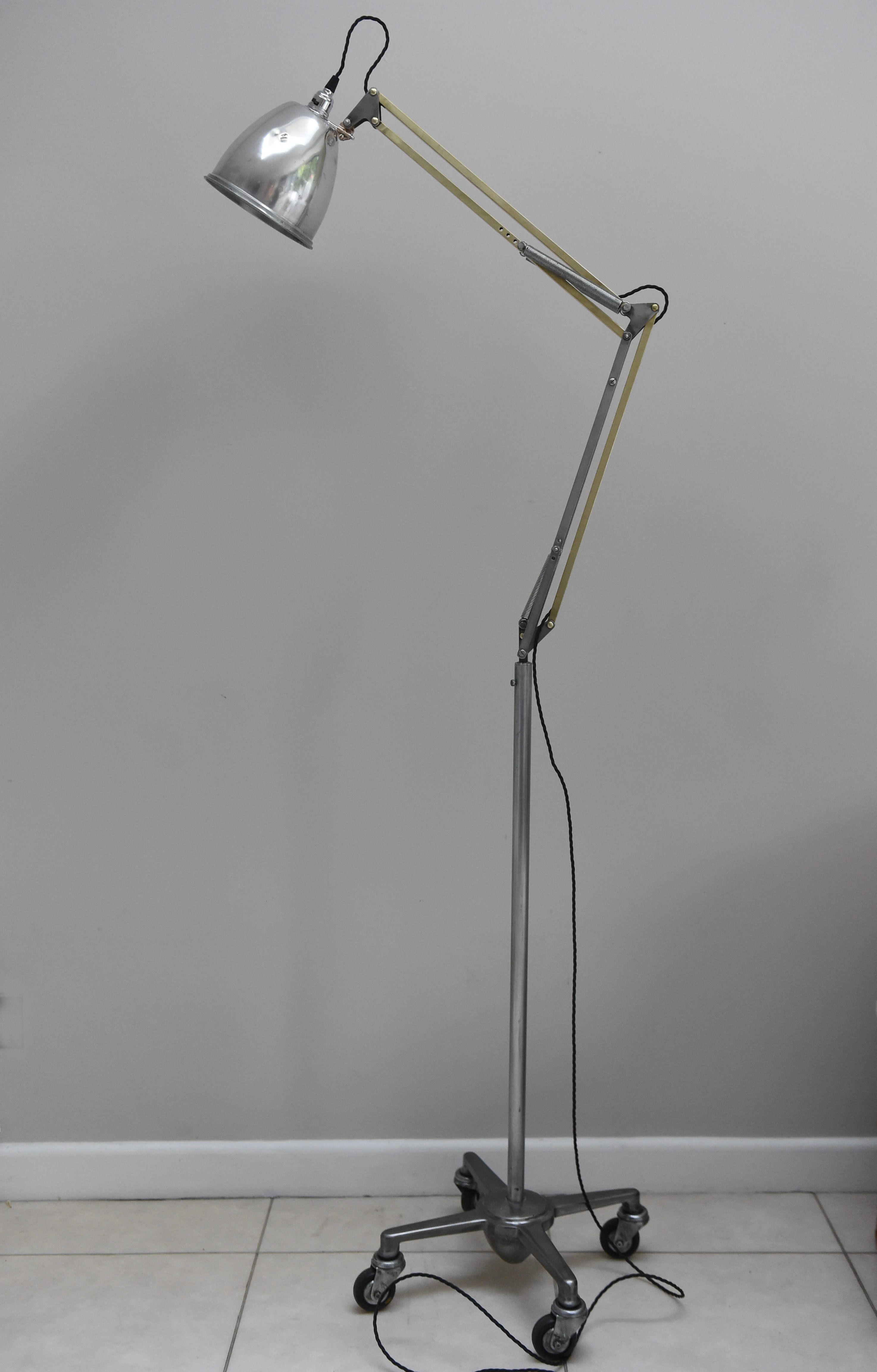 Anglepoise Trolley Floor Lamp Manufactured By Herbert