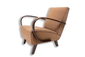 Thumb bentwood armchair designed by jindrich halabala for up zavody 1950 s 0