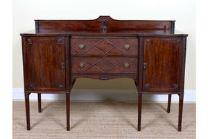 Thumb fine quality antique mahogany sideboard credenza 19th century victorian 0
