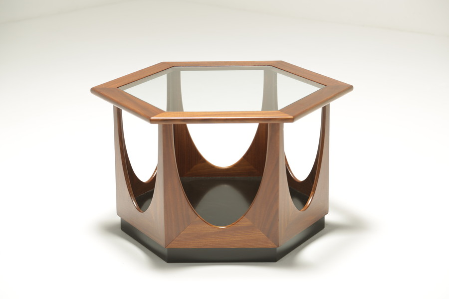 G Plan Hexagonal Table By Victor Wilkins