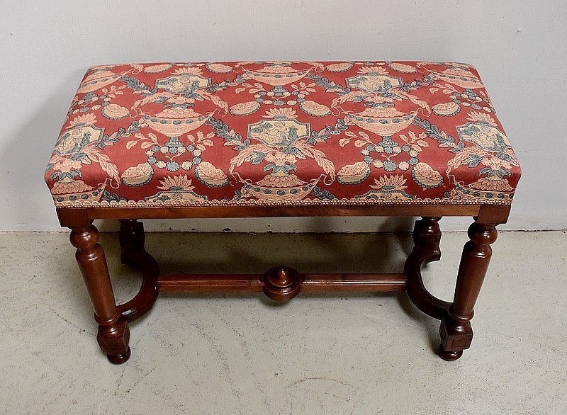 Brilliant Solid Walnut Piano Bench Louis Xiv Style Mid Nineteenth Gmtry Best Dining Table And Chair Ideas Images Gmtryco