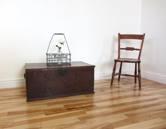 Oak Storage Chest 1700s