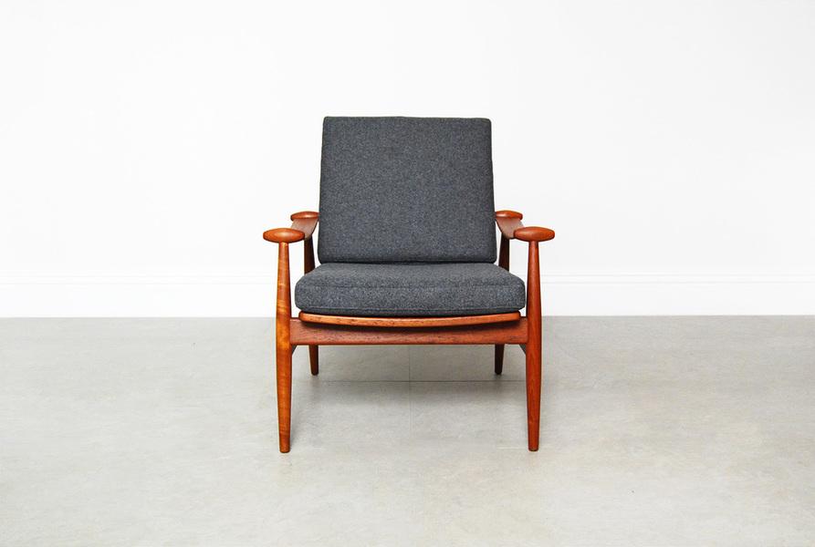 Finn Juhl For France & Daverkosen Spade Chairs photo 1