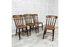 Thumb antique c19th windsor kitchen dining chairs 0