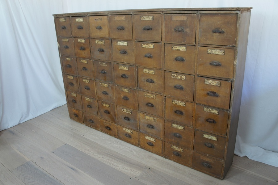 19th Century Spice Drawers