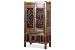 Thumb antique lattice display cabinet 0
