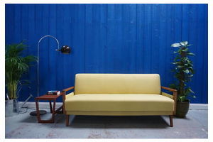 Thumb 1960 s mid century modern sofa bed in in yellow 1960 0