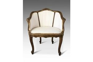 Thumb a fine french guilt armchair c1850 0
