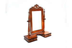 Thumb small swedish victorian dressing table with swing mirror circa 1890 0