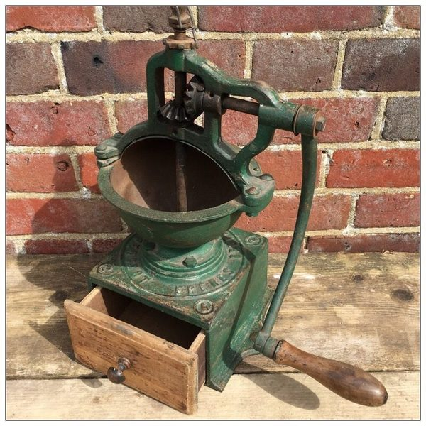 French Antique A2 Peugeot Freres Coffee Grinder