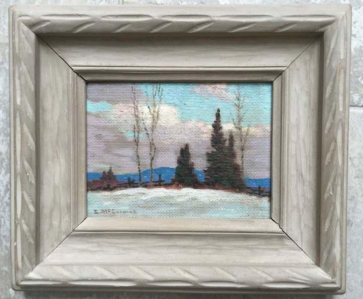 'Glengarry' Oil Painting By Canadian Artist Stuart Mc Cormick, 1956