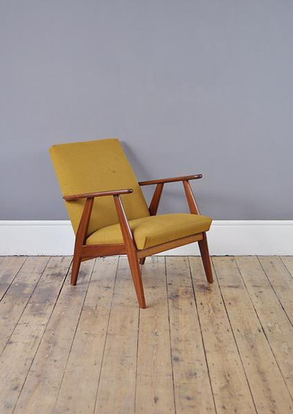 Yellow Duch Armchair photo 1