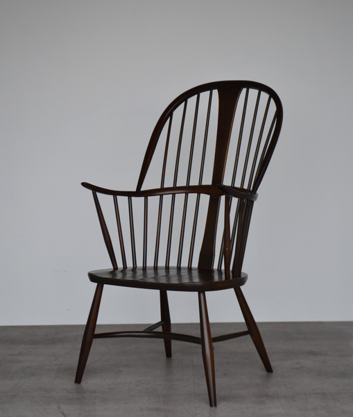 Vintage Mid Century Model 911 Ercol Chairmakers Armchair