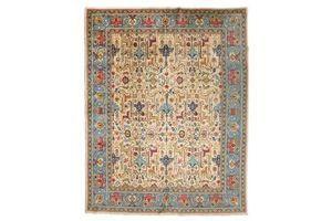 Thumb antique tabriz rug with classic design garrus 1920s 0