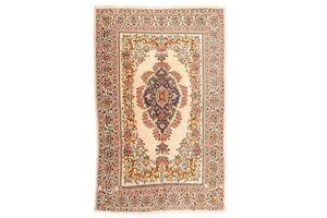 Thumb antique persian rug kirman central medallion design 0