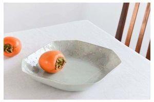 Thumb vintage contemporary 1980s ceramic studio pottery octagonal serving bowl platter 0