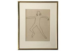 Thumb patrick dolan pencil on paper dancer 1963 0