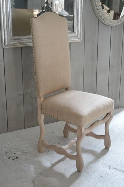 8 Antique Os De Mouton Chairs