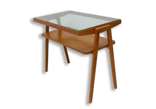 Mid Century Glazed Coffee Or Side Table, Czechoslovakia, 1960´S