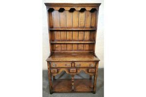 Thumb titchmarsh and goodwin oak miniature welsh dresser rl25 a 0