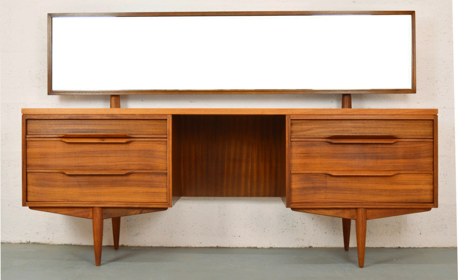 Mid Century Rosewood Dressing Table By White And Newton
