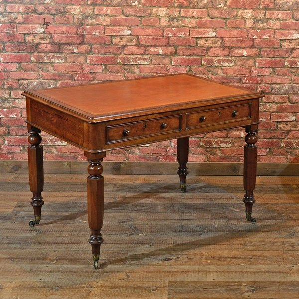 William Iv Library Writing Table, C.1835