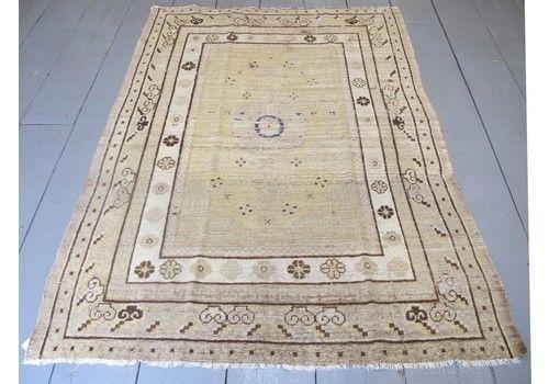 Pale Antique Khotan Rug