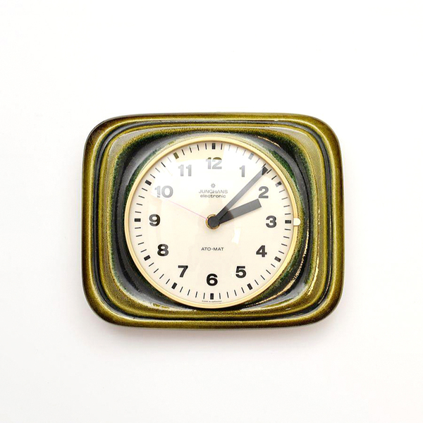 Marvelous Kitchen Clock Junghans 50 60S Home Interior And Landscaping Synyenasavecom