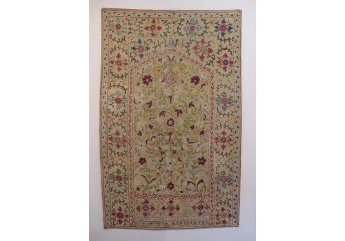 Silk Embroidered Suzani, Uzbekistan