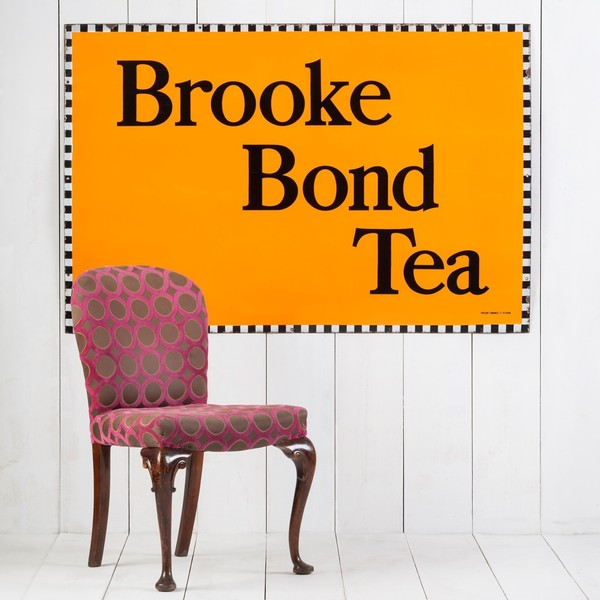 Stunning, Large Brooke Bond Tea Enamel Sign