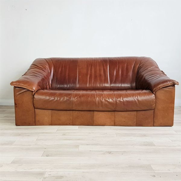 Cool Sale Retro Tan Leather Sofa Ikea 1991 Catalogue Model Two Seater Made In Sweden Sofa Gmtry Best Dining Table And Chair Ideas Images Gmtryco