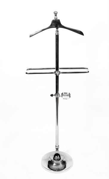 Chrome Valet Clothes Stand