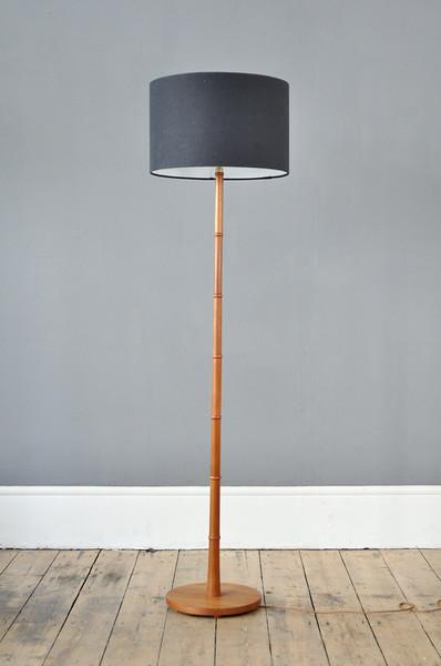 Midcentury Teak Floor Lamp