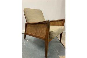 Thumb lounge chair by peter hvidt orla molgaard nielsen fd 151 1950s 0