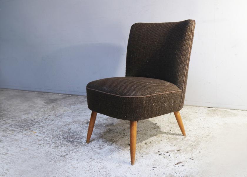 large 1960 s danish mid century vintage small bedroom armchair 0
