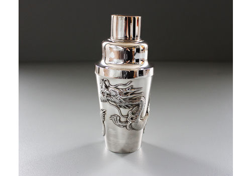 A 1920s Wang Hing Silver Cocktail Shaker