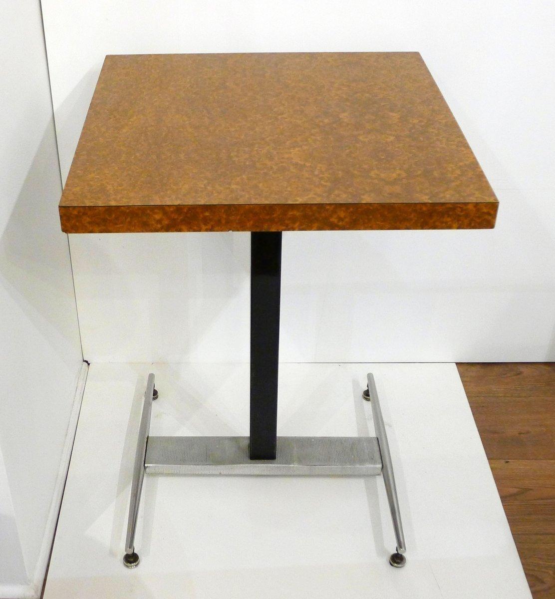 Image of: Mid Century Square Bistro Table Vinterior