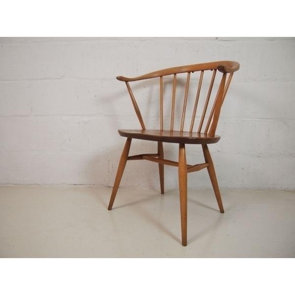 Ercol Cow Horn Chair photo 1
