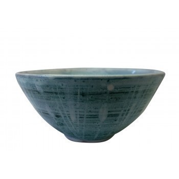 Hasting Pottery Vintage Blue Studio Pottery Bowl