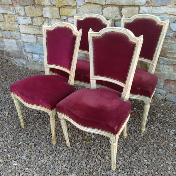 Set Of Four French Louis Xvi Style Chairs Collect From Us Free Or Pay For Courier