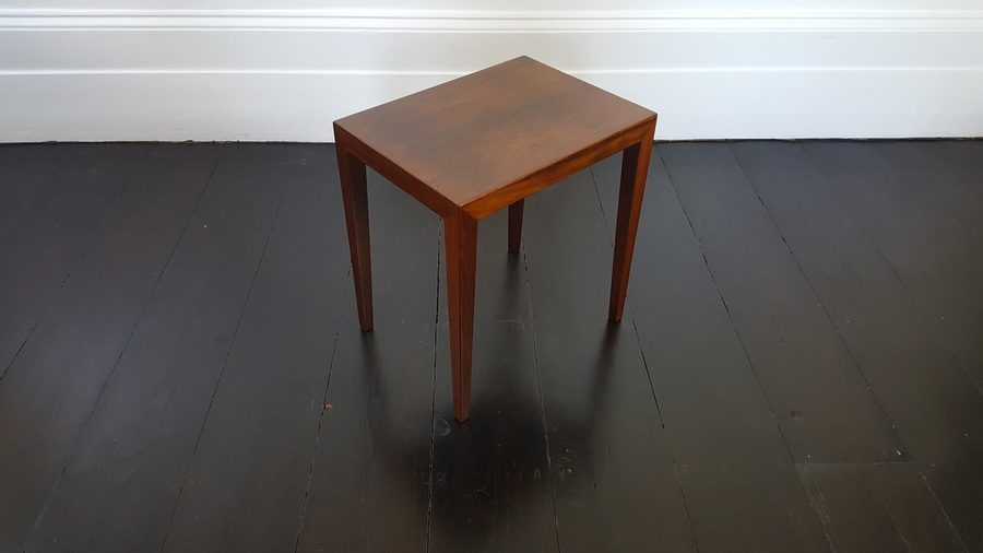 Danish Severin Hansen Rosewood Coffee Table For Haslev, 1960 S.